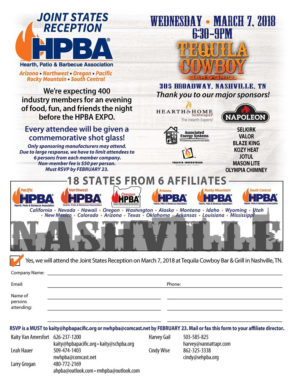 Rocky Mountain Hearth, Patio & Barbecue Association - Joint States ...